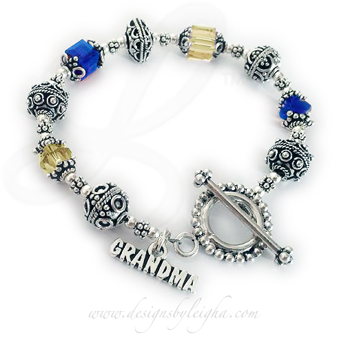 Grandma's Down Syndrome Bracelet