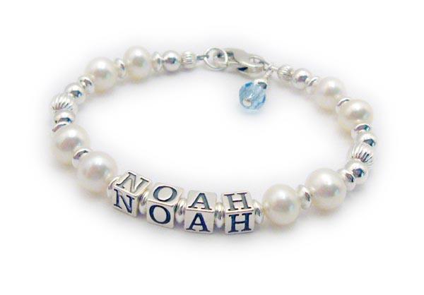 Noah Pearl Mothers Bracelet
