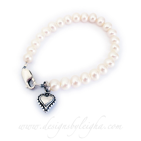 name baby htm and s bracelet sweet freshwater pearls to girls bracelets pearl little girl silver bride size