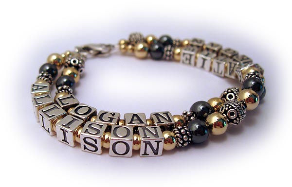 ALlison Katie Logan Jake Mothers Bracelet