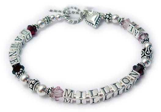 1 String Alzheimers Braceelt Dblalzheimer Bracelet