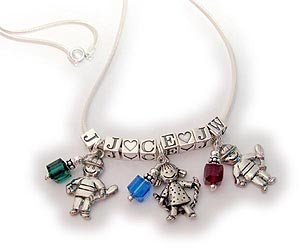 Kid Charm Necklaces