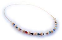 Grandma Birthstone Crystal Necklace