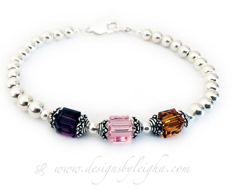 DBL-BB1-1	String Bracelet  Enter: Febuary, October, November