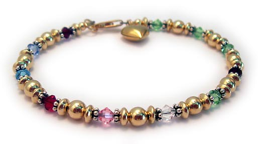 DBL-BB7-1 string bracelet  Enter: Jan Dec Mar Jul Oct Apr Aug Jan Aug Aug Aug They added a Gold Puffed Heart Charm.