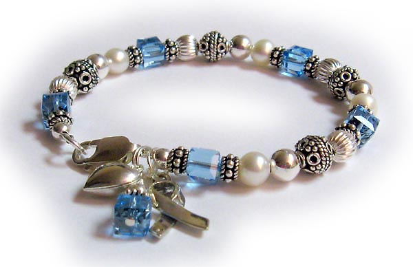 December Birtstone Charm Bracelet