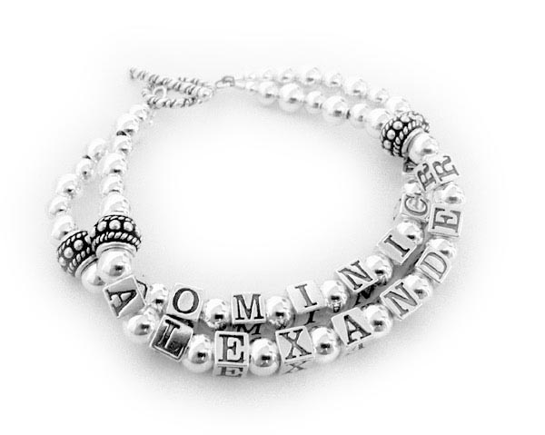 Madison and Dominic Mothers Bracelet