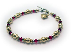 Birthstone Bracelet for Grandma
