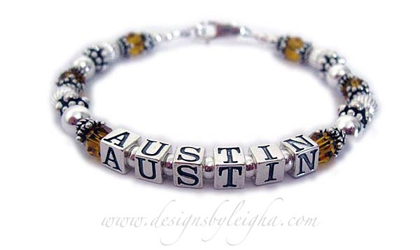 Austin November Birtstone Bracelet for Mother or grandmother