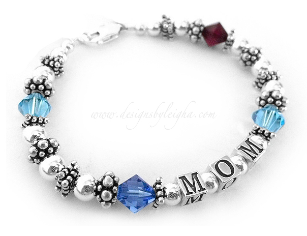 Birthstone Bracelet For Mom