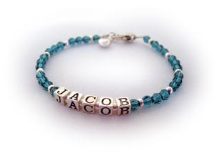 Jacob Birthstone Bracelet