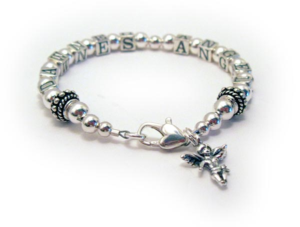 Angel Bracelet with an Angel Charm