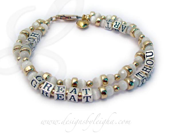 "This is a 2 string bracelet. It is shown with 3 add-ons; gold-plated lobster claw clasp & gold-plated puffed heart. Since you can have up to 18 letters, free per string, you don't have to ""add"" any additional letters because this is a 2-string bracelet."