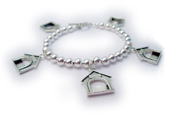Dog Or Cat Picture Frame Photo Charm Bracelet Charm Bracelet With