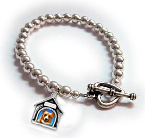 Dog Charm Bracelet for Dog Lovers