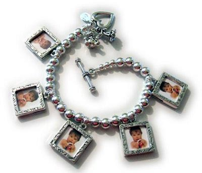 Picture frame charm bracelet - Charm Bracelet with Picture Frame ...