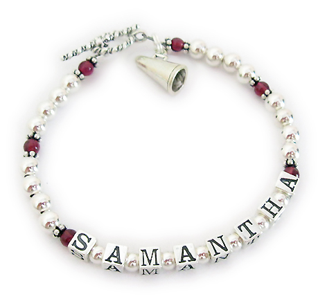 CHEER Bracelet with Megaphone Charm