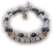 Hematite Birthstone Bracelet for Mommy