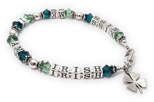 Kiss me I am Irish jewelry