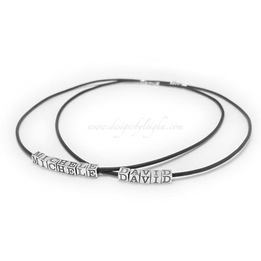 Beaded Name Necklace