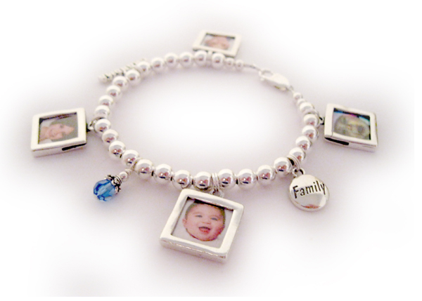 Picture Frame Bracelets - Charm Bracelet
