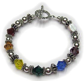 Rainbow Bracelet no1 Gay Pride Bracelet 1