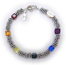 Rainbow Bridge Bracelet with an IN MEMORY bead. You can add Cat and Dog charms, Paw prints or picture frames...