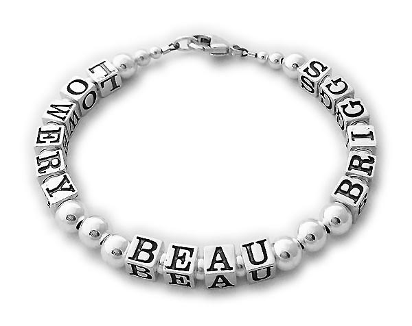 DBL-SS9-1	String Bracelet Order: LOWERY - BEAU - BRIGGS / no crystals