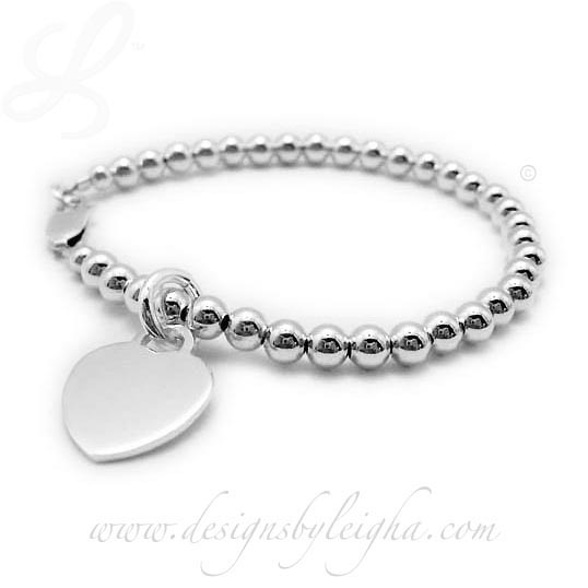 Valentines Day Heart Charm Bracelet for under $50!!!